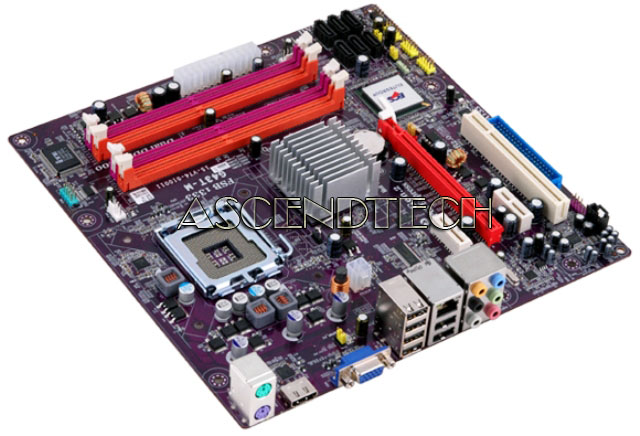 DUAL CORE AM2 MOTHERBOARD MCP61PM-AM V.1.0A GF6150