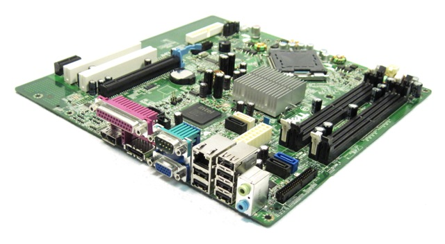 Dell Optiplex 760 Motherboard Slots