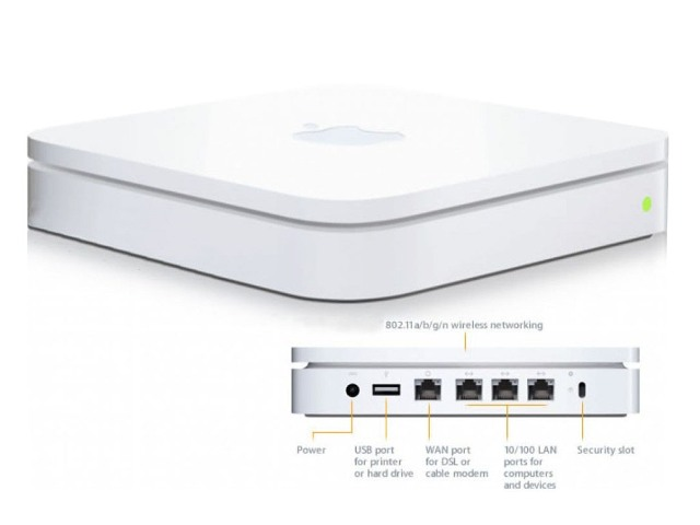 how to connect apple airport