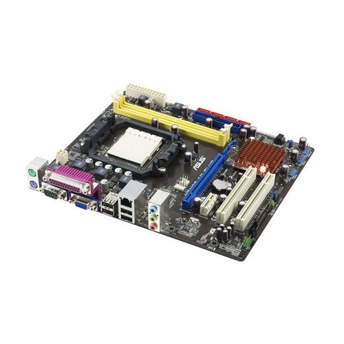Asus M2N68 Am Plus AMD Socket AM2 AM2 7025 DDR2 VGA Motherboard No I O Shield
