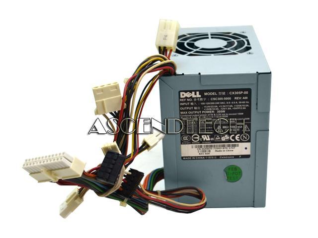 UH870 0UH870 CX305P-00 | Dell CX305P-00 305W Power Supply UH870