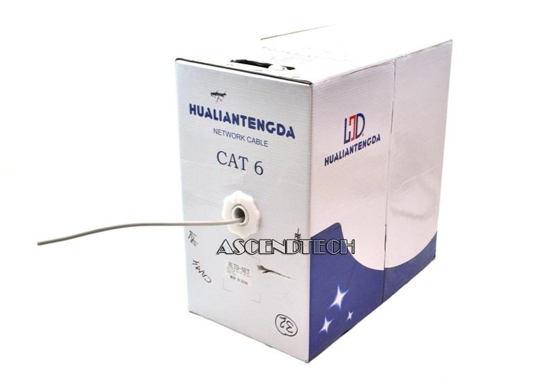 Cable/Wire Type Cat6 Shielded Yes Application Commercial / Residential Gauge 23AWG Type 4PR LAN Cable Twisted Pair Type Cat6 Indoor/Outdoor Indoor  sc 1 st  Ascendtech & HUALIANTENGDA HLTD-NET | 350FT CAT6 Ethernet Lan Network Cable Aboutintivar.Com