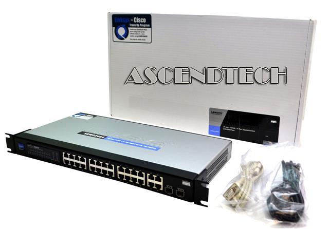 Cisco Linksys Network Switch SRW224G4