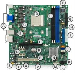 Gateway MCP61PM-GM Motherboard 4006254R on