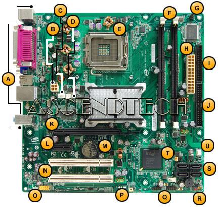 945GC Motherboard 1009544 1014854R New Gateway Emachines Intel Coconut Creek