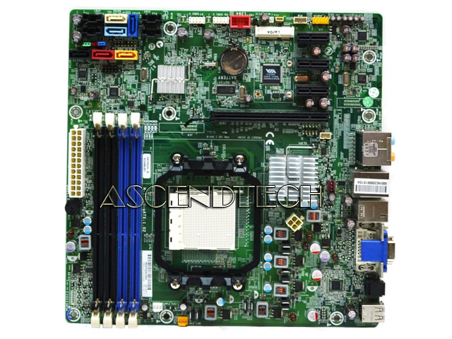 612498-001 618937-001 | Hp H-RS880-uATX Motherboard 537376-001