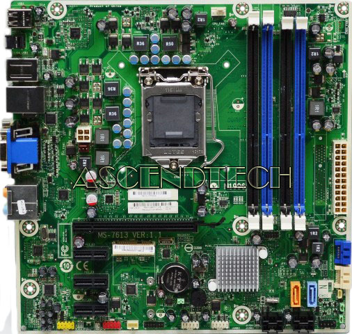 Ms 7613 Iona Gl8e Hp 575765 001 612500 001 Motherboard