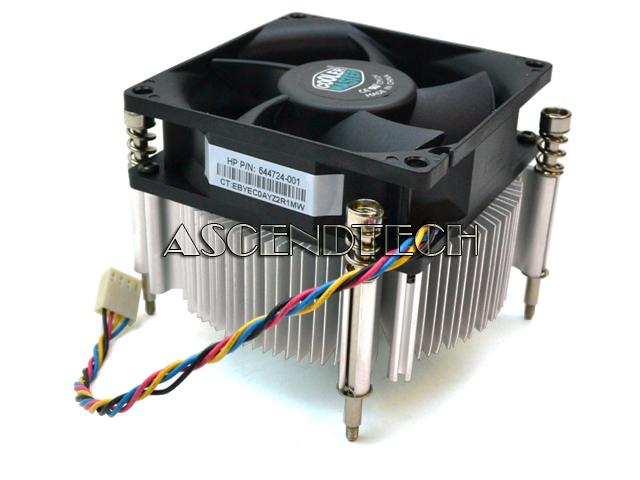 644724 001 Cm12v Hp Desktop Heatsink And Fan 644724 001