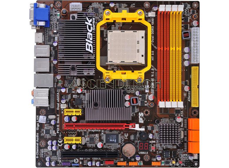 A785GM-M V1 0 | Ecs A785GM-M V1 0 Amd AM3 DDR3 Mb No I/O