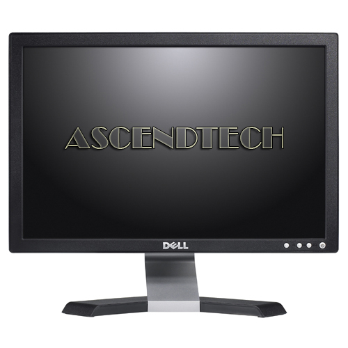 "LOT OF 4 Dell E1709Wf Flat Panel 17/"" LCD Monitors"