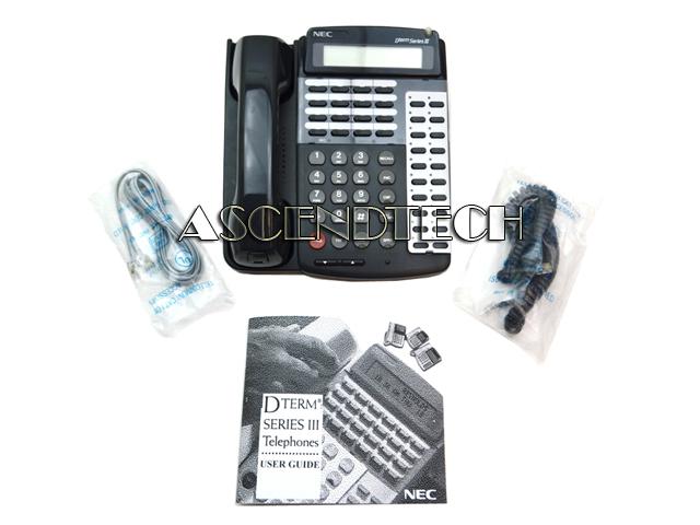 etj 16dd 2 bk 570516 nec dterm series iii digital phone rh ascendtech us nec dterm series i user guide+voicemail nec dterm series ii user guide