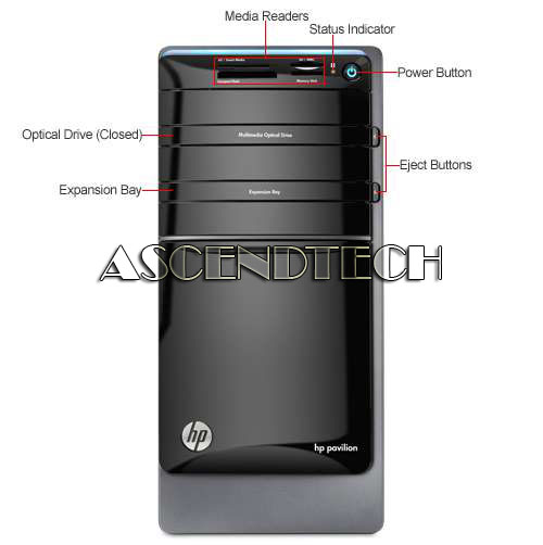 how to use microphone on hp pavilion b014a