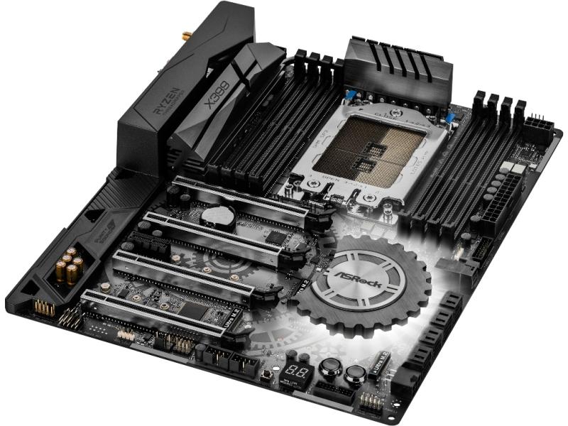 X399 Ddr4 Usb 3 0 Atx Amd Socket Tr4 X399 Ddr4 Motherboard