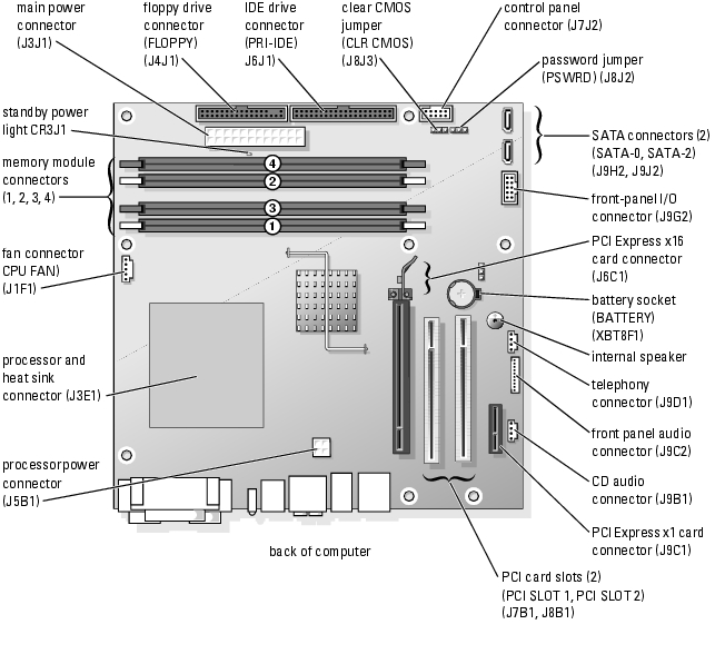 BBLB 236 together with Dell Xps 8700 Motherboard Wiring Diagram likewise C03742786 as well 311327406577 additionally 301652752860. on dell dimension 8200