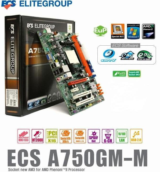 ECS A750GM-M VIA HD AUDIO DRIVERS WINDOWS 7 (2019)