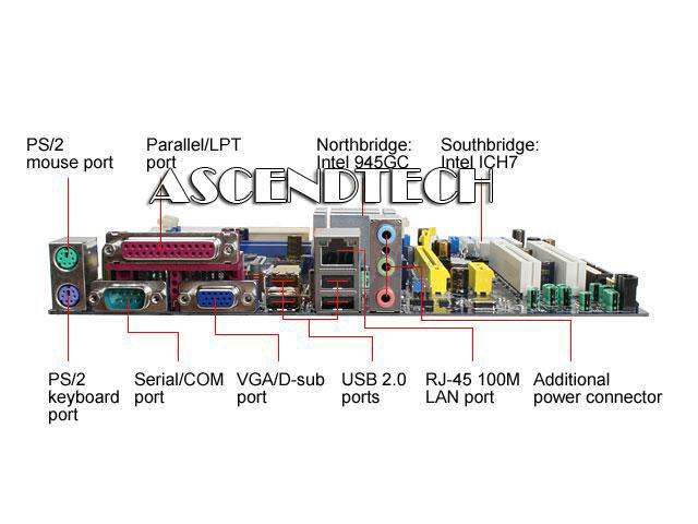 Foxconn 45CMX LGA775 DDR2 SATA2 PCI-e Mb