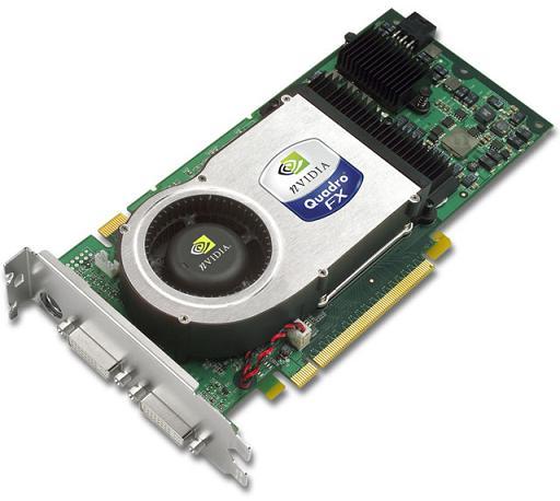 W5955 nVidia Quadro FX4400 512MB PCI-E