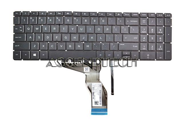 HP 15-AY 15-BA Series US English Black Laptop Keyboard PK131O24A00 V151802AS3