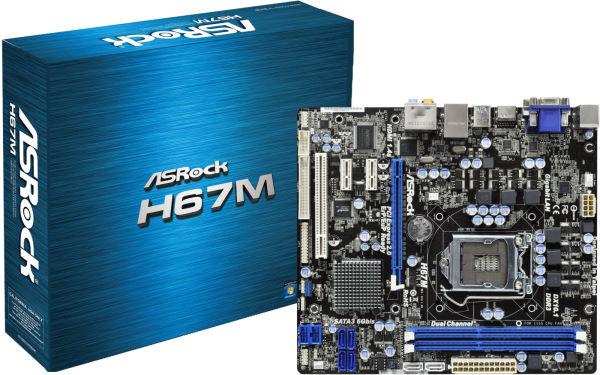 Asrock H67M Intel Rapid Storage 64x