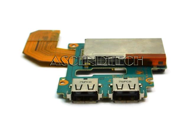 SONY VGN-TZ130N Audio Sound Microphone Jack Board with Speakers ANL-81-11 USA