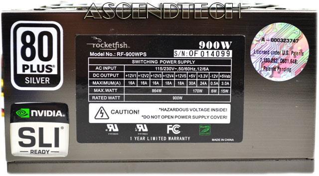 900 Watt ATX CPU Power Supply System Requirements 12V V23 Or V292 Motherboard