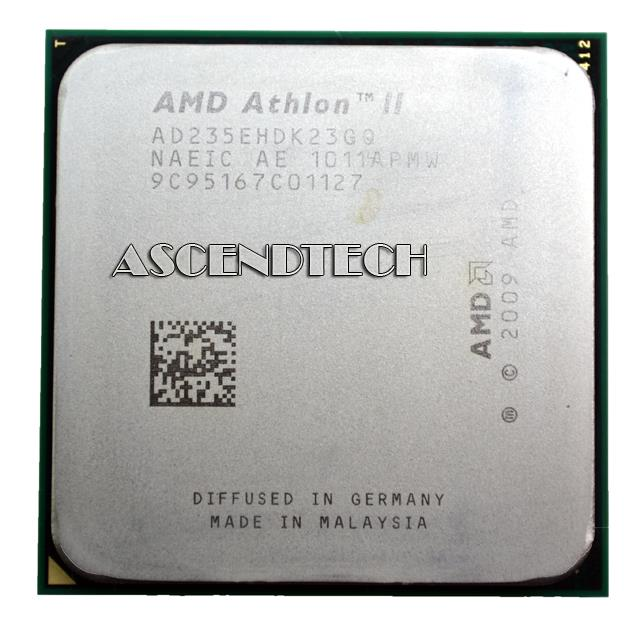 AMD Athlon II X2 235e 235 2.7 GHz Dual-Core CPU Processor AD235EHDK23GQ Socket AM3