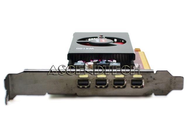 25d14 102 C75503 Amd Firepro W4100 2gb 4x Mini Dp Pcie Vc