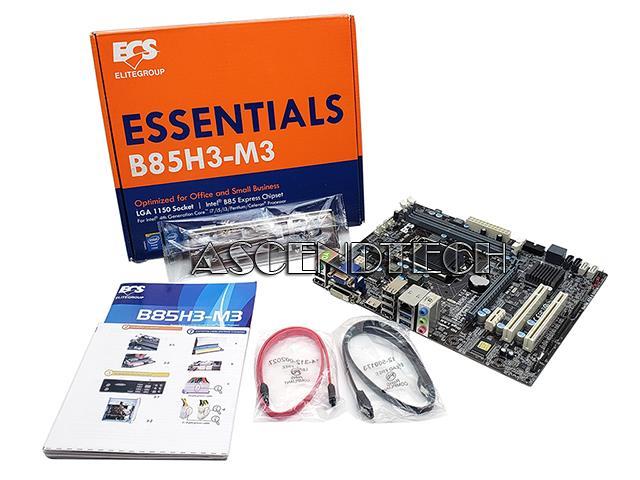 Ecs B85H3-M3 V1 0 Intel B85 LGA1150 Mb