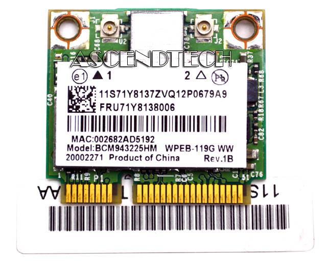 Broadcom bcm943225hm драйвер