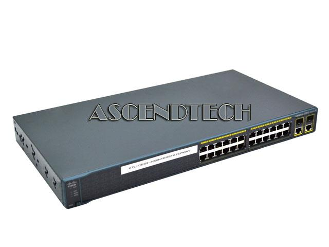 Cisco 2960 24 Port Switch No Brackets