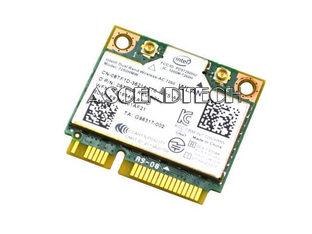 Dell E7240 Wireless-AC 7260 WiFi Card