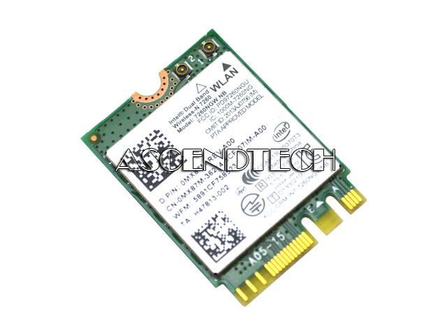 Dell Intel 7260 WiFi Card MX87M