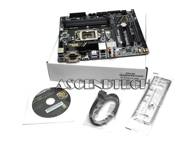Gigabyte GA-B150M-D3H DDR4 R 1 White Box