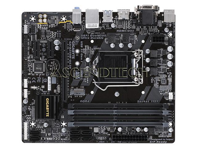 Gigabyte GA-B250M-DS3H Rev 1 0 White Box