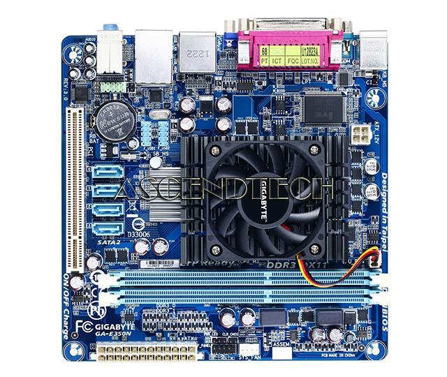 Gigabyte GA-E350N rev 3 0 No I/O
