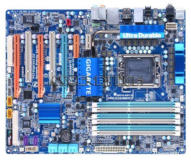 Gigabyte GA-EX58-DS4 Realtek LAN XP