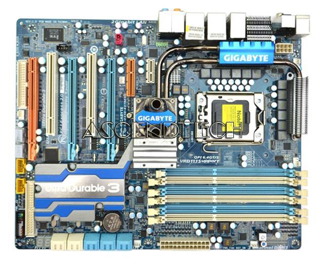 Gigabyte GA-EX58-Extreme rev 1 0 No I/O