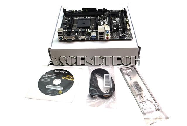Gigabyte GA-F2A68HM-H Rev 1 0 White Box