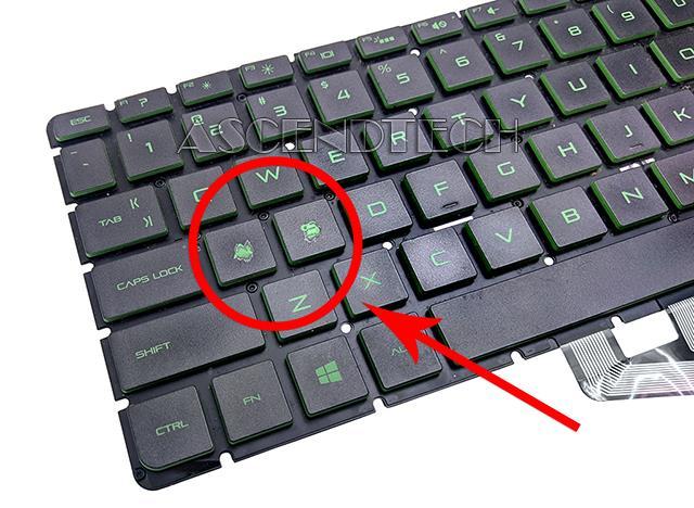 Hp 15-AK English Keyboard 9Z NC8BQ 601