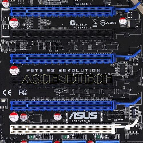 P6T6 Ws Revolution X58 LGA1366 No I/O