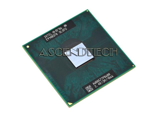 1066MHZ FSB CPU Processor P8600 3MB Cache Intel Core 2 Duo Mobile 2.40GHZ SLGFD