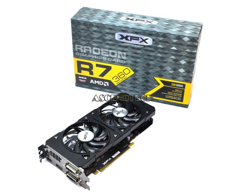 Xfx Radeon R7 360 2GB D-Port Hdmi Dvi x2